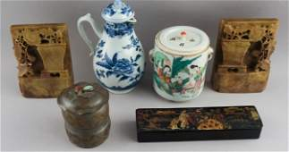 Group of Antique Chinese & Japanese Articles