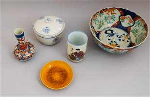 Group of Chinese Porcelain Articles
