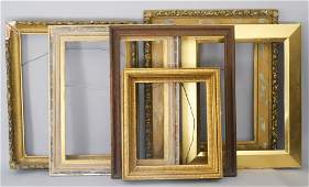 Lot of Six Frames of Various Ages and Styles