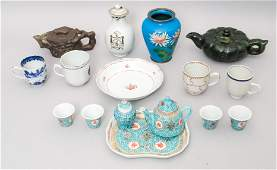 Large Group of Decorative Asian Antiques