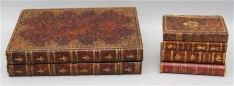 Au Nain Bleu Paris Book Form Backgammon Set