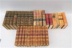 Large Lot of Antique History Books