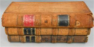 Lot of 3 1850's General Store Ledger Day Books