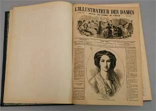 26 Issues Bound Magazine, L'Illustrateur Des Dames