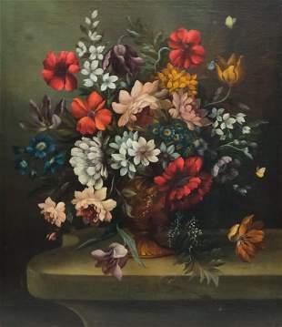 Jacob Van Doost, Floral Bouquet Still Life