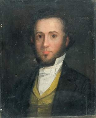 American School, Portrait of a Young Man