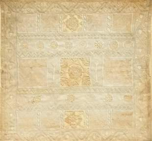 Early English Embroidery and Cutwork Panel