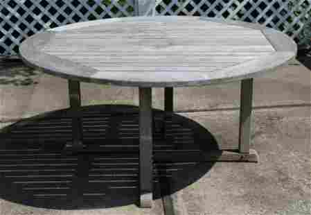 Kingsley Bate Essex Outdoor Teak Dining Table