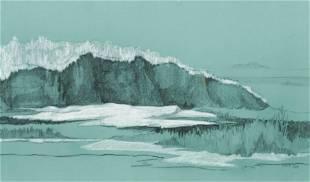 American School, Coastal Landscape