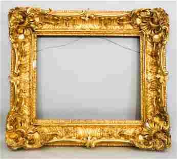 Louis XV Giltwood Frame