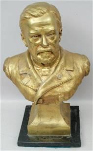 Bronze Bust by Aime-Jules Dalou (1838-1902)
