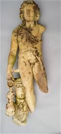Ancient Roman or Greek Marble Statue of Dionysus