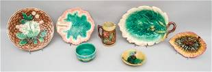 Lot of Majolica Dishes and Dinnerware.
