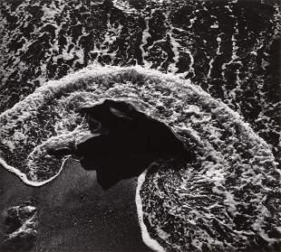 ANSEL ADAMS - Surf and Foam, Timber Cove, CA, c. 1962,