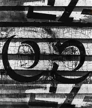 ROBERT K. BYERS - Old Sign, 1974
