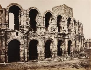 EDOUARD BALDUS - Arles Amphitheater, c. 1859