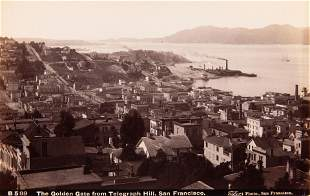 ISAIAH W TABER - 3 Views of San Francisco, c. 1880s