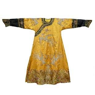 A Qing Dynasty Empress Phoenix Robe