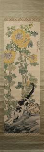 Painting : Cat by Xu Beihong