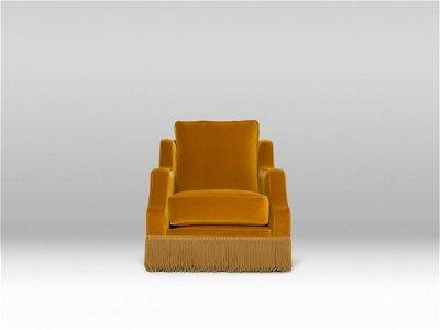Atlanta Chair - Velvet, Acorn