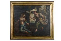AnnunciationMarche workshop, early 17th century