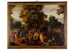 Adriaen Frans Boudewyns (attr. to)(1644 - 1711) The