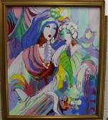 OIL ON CANVAS BY ISAAC MAIMON