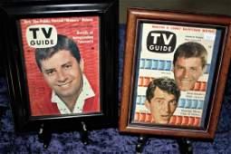 2 JERRY LEWIS / DEAN MARTIN TV GUIDES