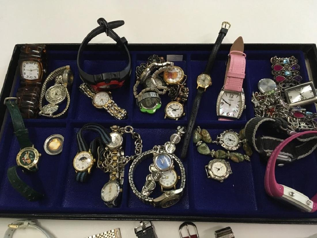 TRAY LOT OF WATCHES - 2