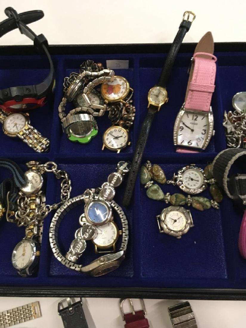 TRAY LOT OF WATCHES - 4