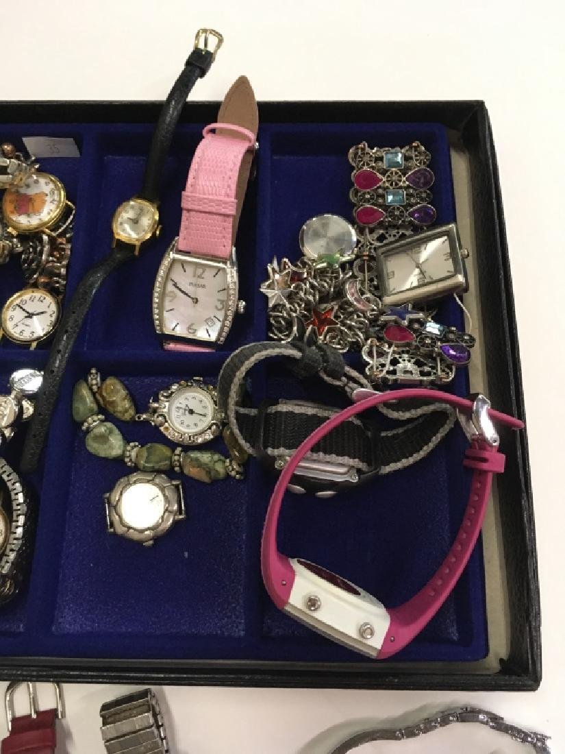 TRAY LOT OF WATCHES - 5