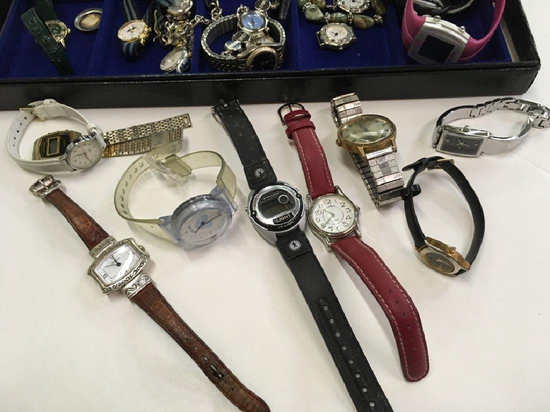 TRAY LOT OF WATCHES - 6