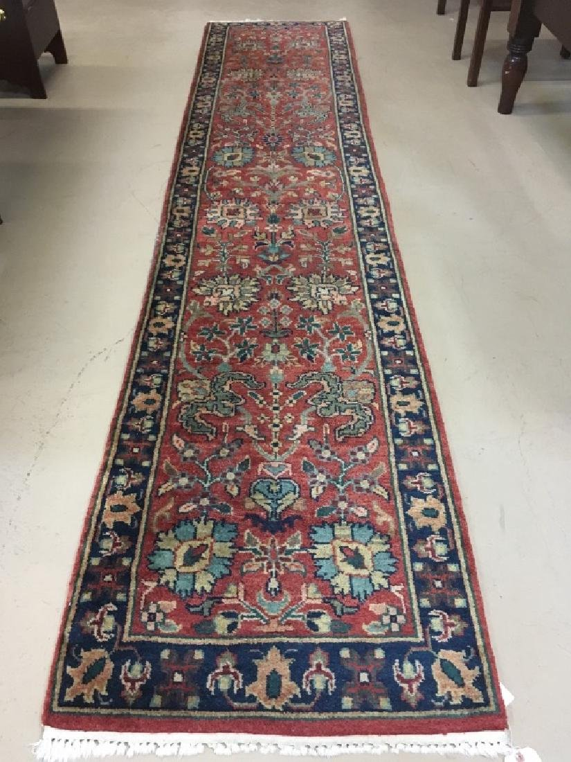 HAND KNOTTED ORIENTAL RUNNER