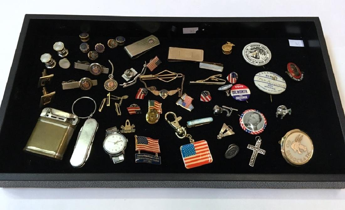 10K BABY PINS, MONEY CLIPS, TIE CLASPS & MORE
