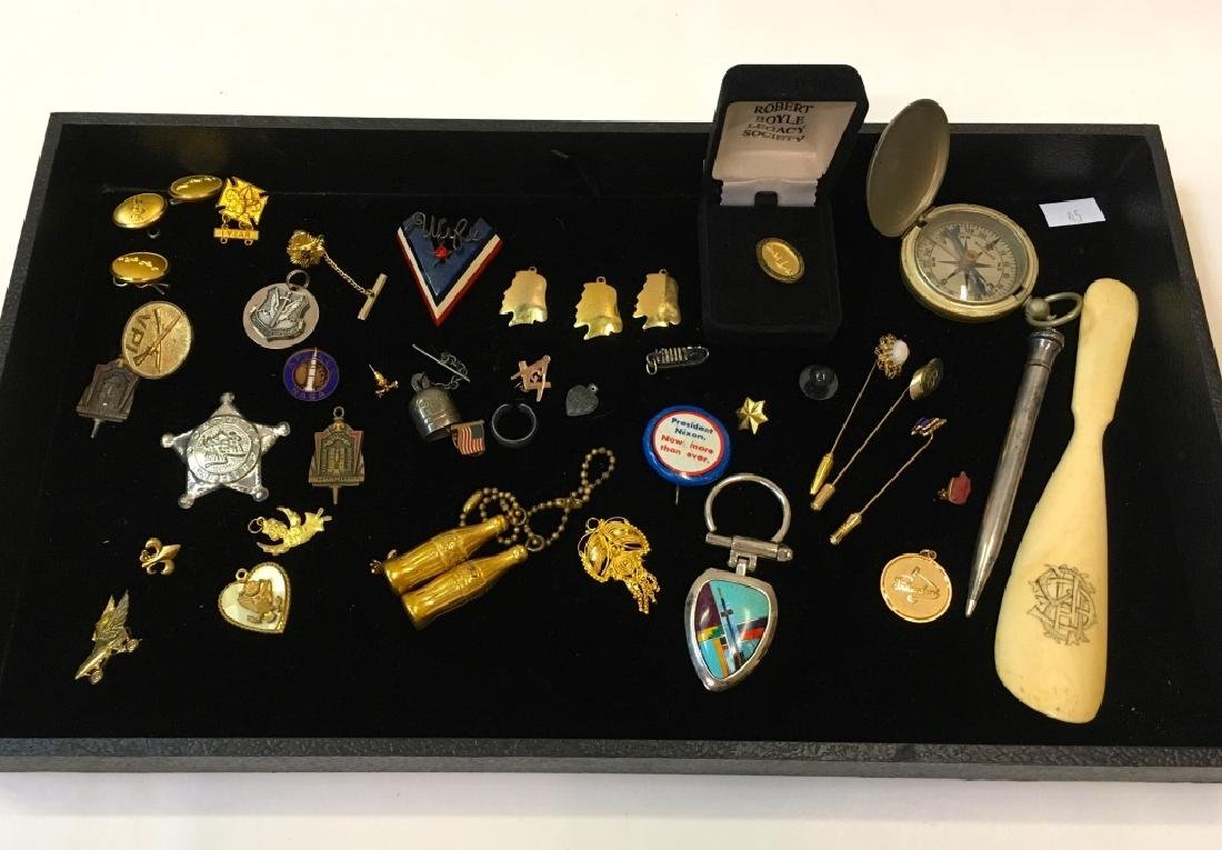 ASSORTED LOT OF VINTAGE & ANTIQUE ITEMS
