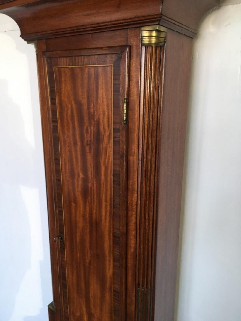 FEDERAL INLAID TALL CASE CLOCK BY ELNATHAN TABER - 9