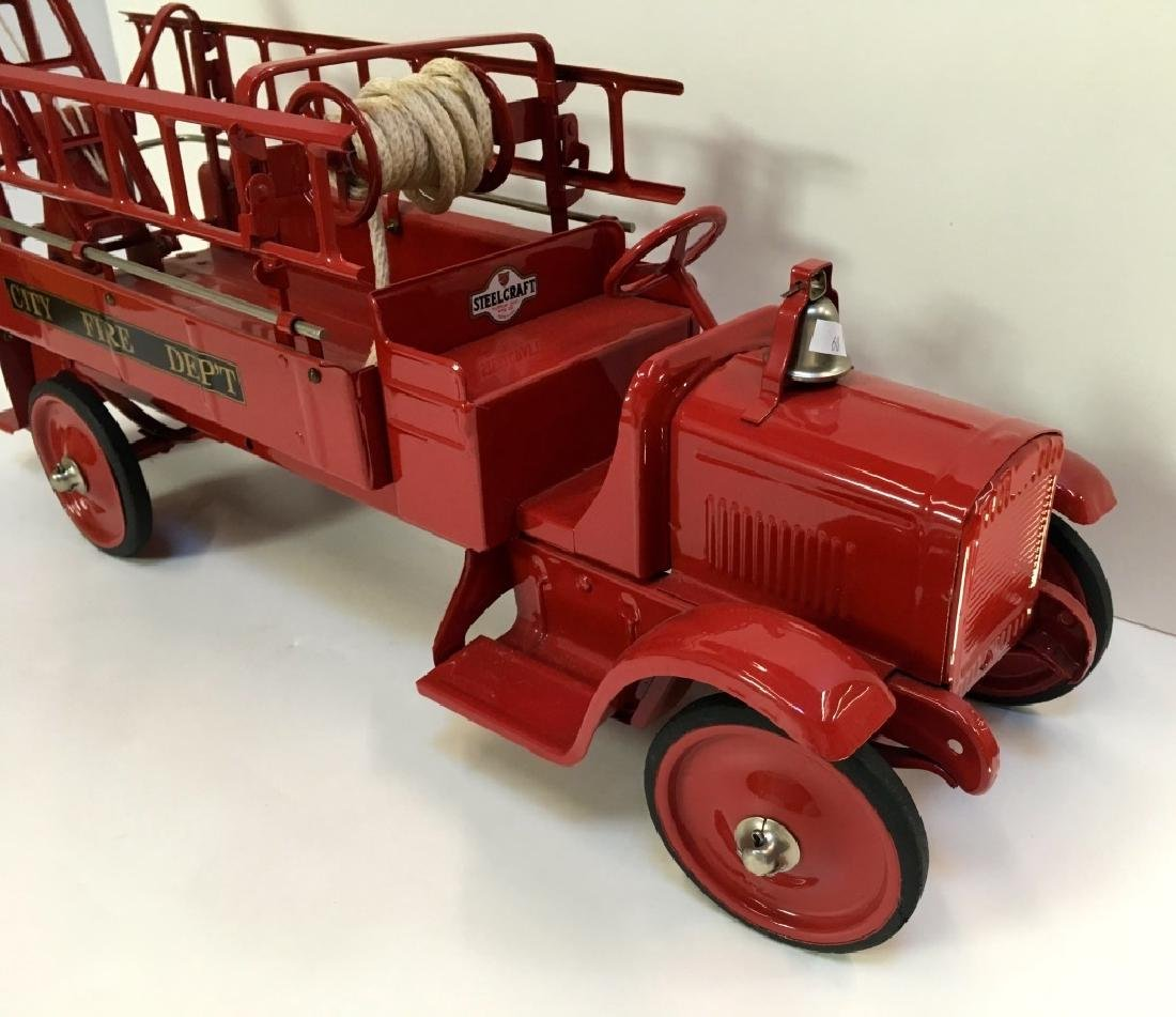 STEELCRAFT CITY FIRE TRUCK BY MURRAY - 4
