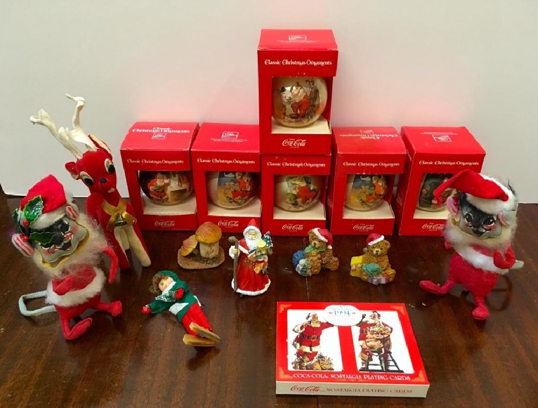 FIFTEEN CHRISTMAS COLLECTIBLES