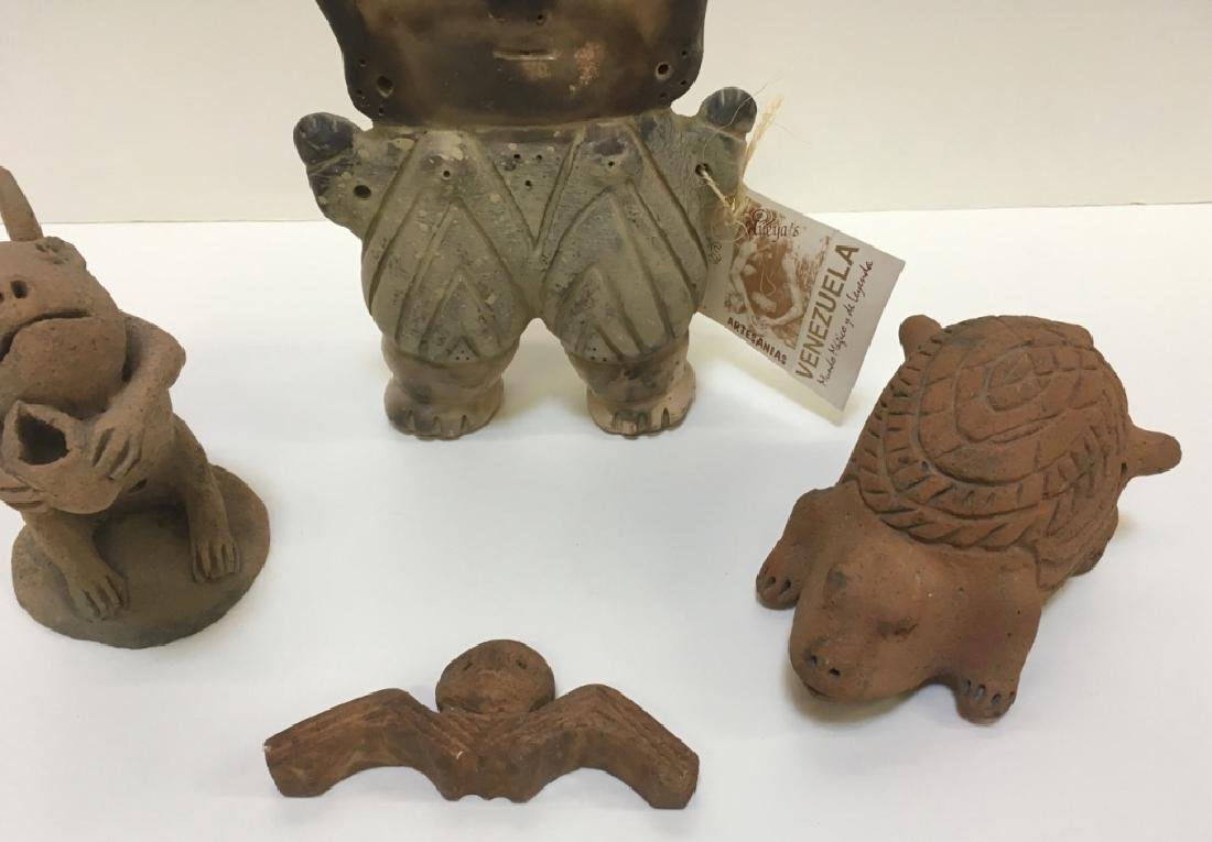 PRE-COLUMBIAN STYLE FIGURES - 3