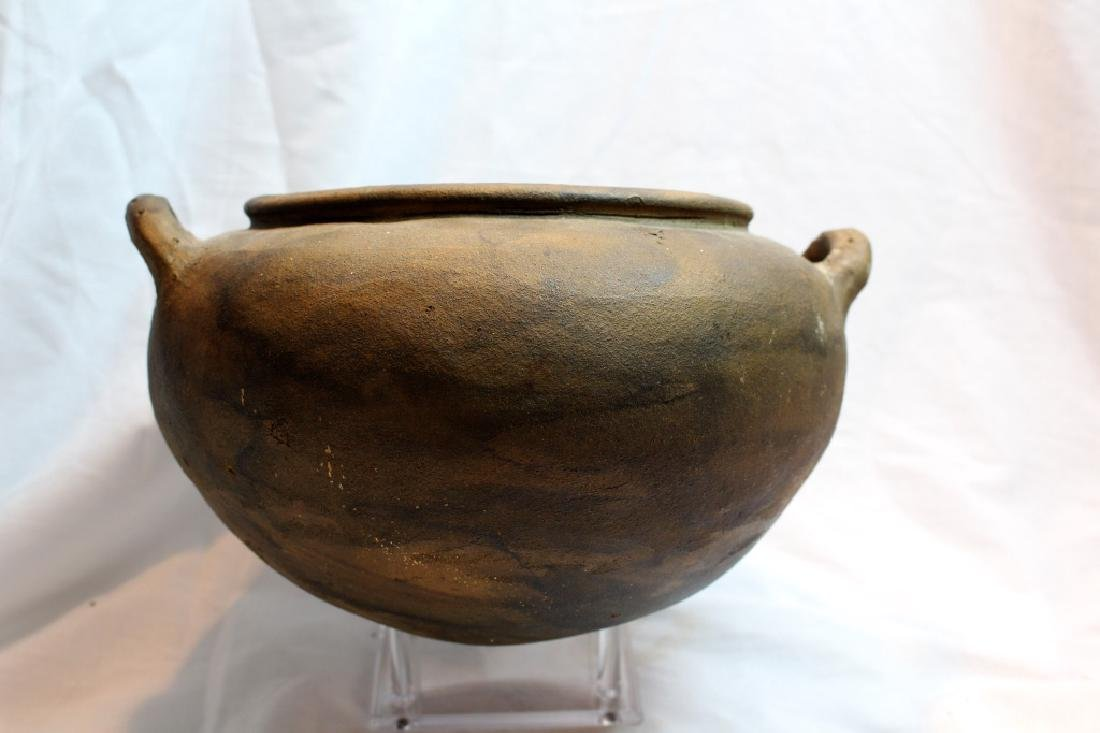 LARGE PRE-COLUMBIAN STYLED BOWLS & BEAD - 2