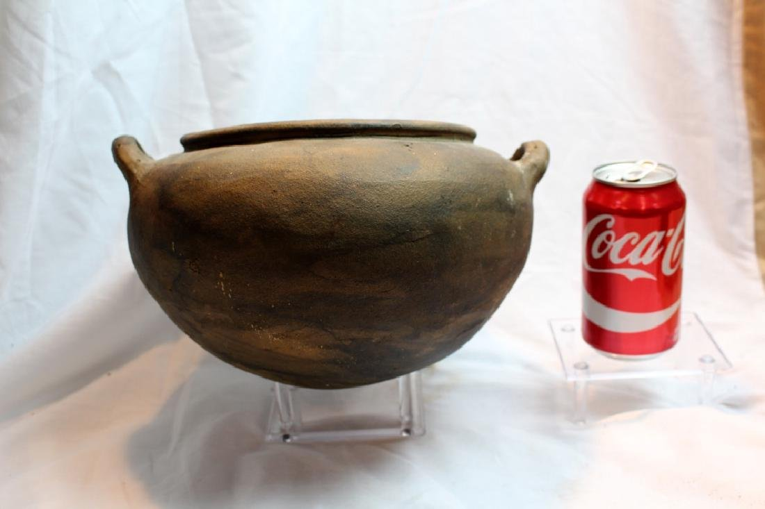 LARGE PRE-COLUMBIAN STYLED BOWLS & BEAD - 3