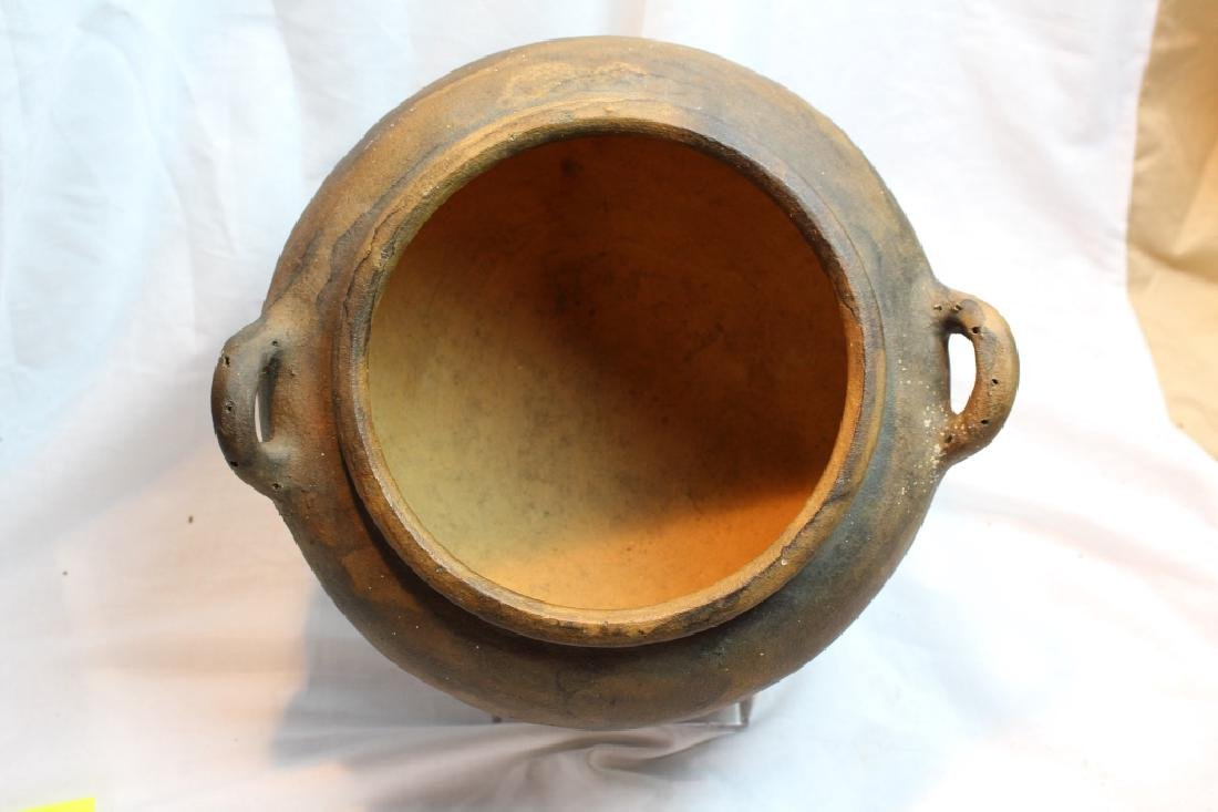 LARGE PRE-COLUMBIAN STYLED BOWLS & BEAD - 4