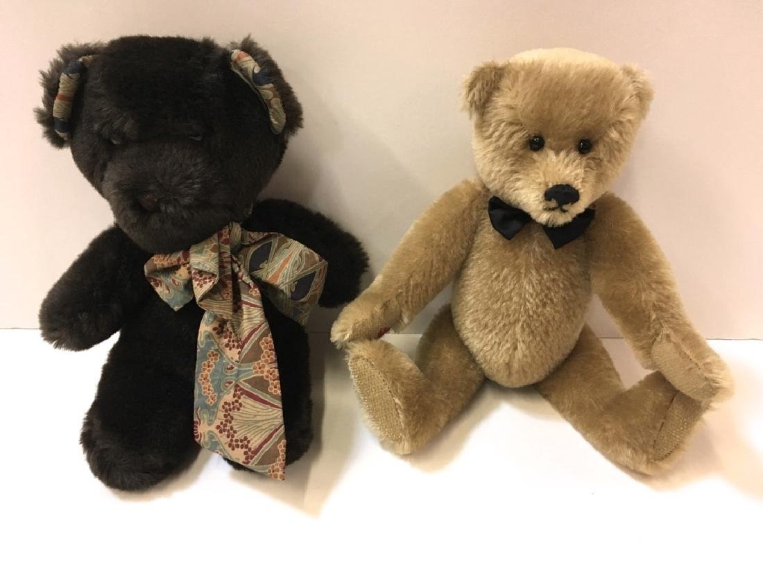 LIBERTY OF LONDON TEDDY & GARY NETT BEARS