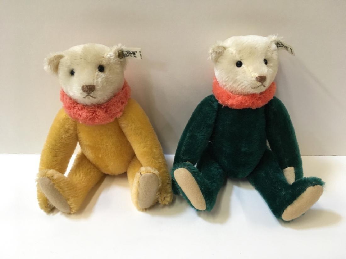 TWO STEIFF DOLLY BEARS