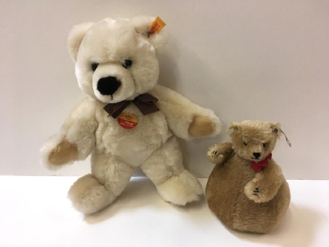 2 STEIFF BEARS - ROLY-POLY & MOLLY