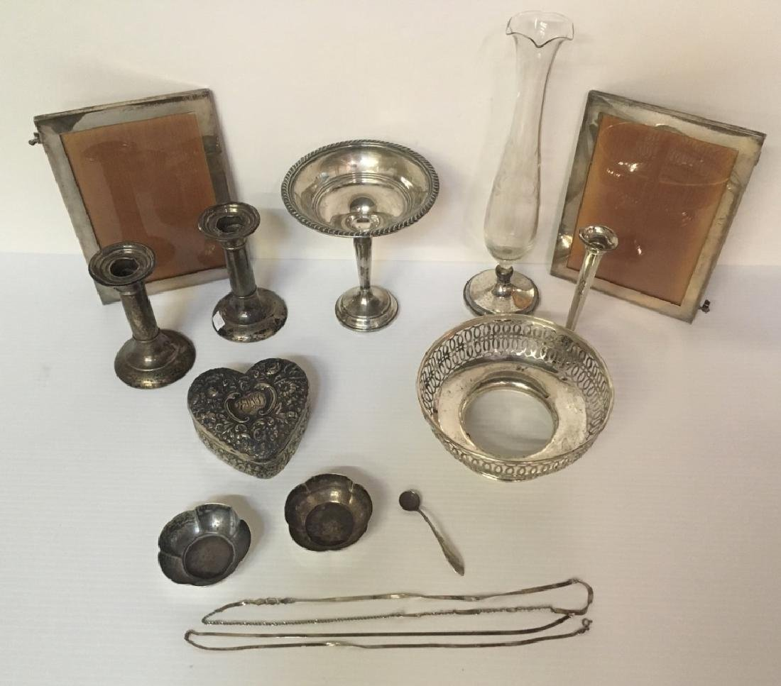 STERLING ITEMS - USABLE, SCRAP & REPAIRABLE ITEMS