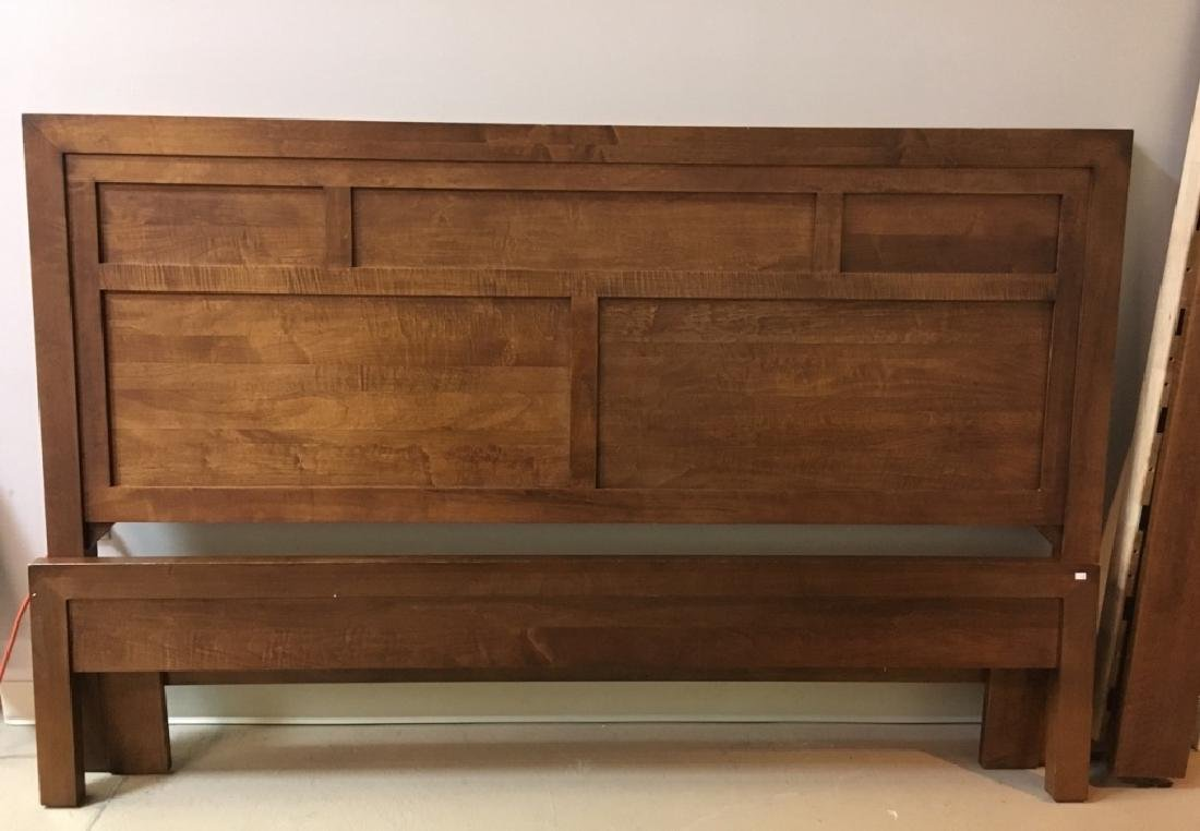 KING SIZE PANEL BED - MADE IN CANADA