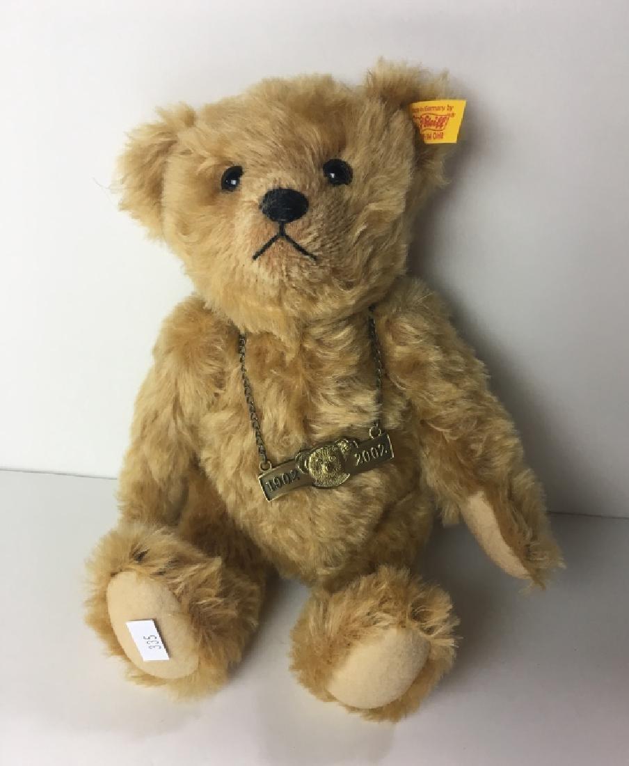 STEIFF DANBURY MINT BEAR GROWLER 1902 - 2002 EAN 6