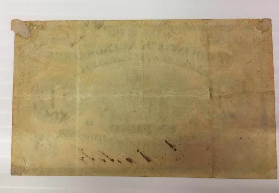ARGENTINA 1869 LA PROVINCIA DE BUENOS AYRES 1 PESO - 2