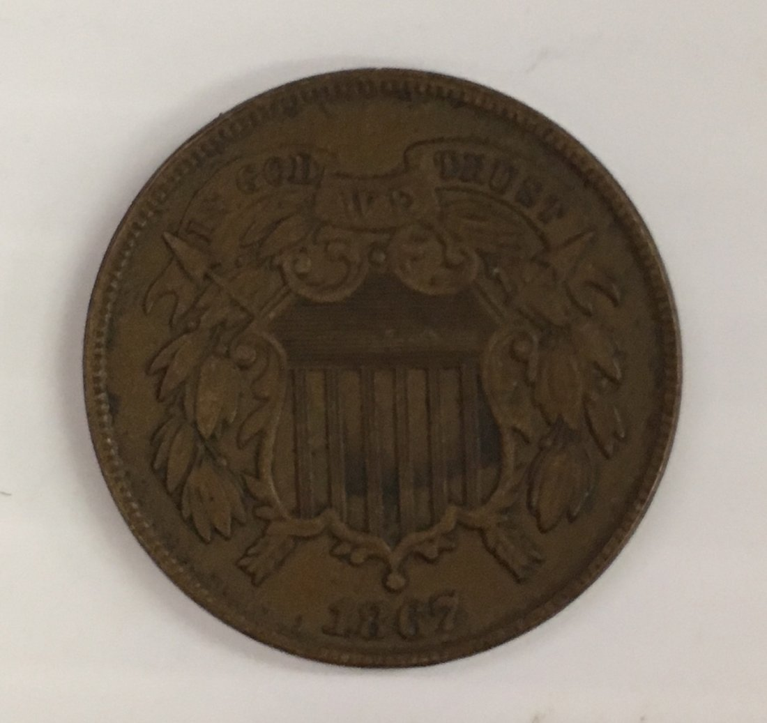 1827 CENT AND NICE 1967 2 CENT - 4
